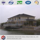 Casa pré-fabricada moderna da construção de aço de China