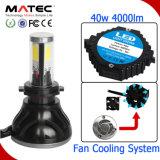 고품질 공장 가격 LED 헤드라이트 9-36V 8000lm H1 H3 H4 H7 9004 차를 위한 9005의 LED 헤드라이트