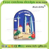 Cadeaux de promotion de PVC d'aimants de réfrigérateur pour la Malaisie (RC-MA)