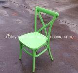 Chaise/Crossback de restaurant dinant la chaise