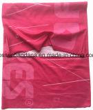 Le produit d'OEM a personnalisé le Bandana fait sur commande de chiffon de Hoo de polyester estampé par logo