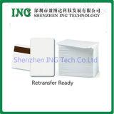 Shenzhen-unbelegte Weiß PVC-Karte, Chipkarte, Plastikkarte