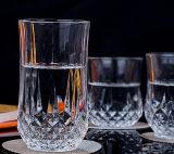 taza cristalina sin plomo transparente del vidrio del whisky de la taza clásica del whisky 50-365ml