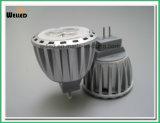 lumière économiseuse d'énergie 2W 4W Gu4.0 d'endroit de projecteur de 12V 10-30VDC MR11 DEL