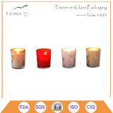 Normallack-Glaskerze-Halter, Kerze-Lampe