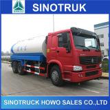 Sinotruk 20cbmのスプリンクラーの水漕のBowserのタンク車