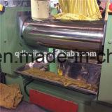 Moinho de mistura aberto da borracha, moinho de dois rolos com misturador conservado em estoque