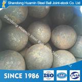 Bola de acero forjada Wear-Resistant para la mina de cobre 40m m