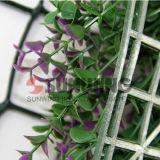Barriera di plastica artificiale poco costosa della rete fissa del giardino