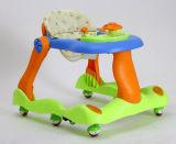 Starke Kunststoff-neue Art-multi Funktions-Baby-Wanderer-Kleinkind ues-förmig faltbares Pushable