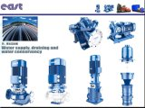 Schwarze Farbe Staniless Stahlmehrstufenrohrleitung-Pumpe für Wasserversorgung