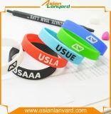 Wristband variopinto del silicone di modo di disegno di Lates