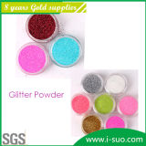 10 Glitter Powder Plastic ProductsのためのAnti-ShrinkおよびTop