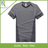 Wicking를 가진 남자의 Kintted Polyester Sport T-Shirt Wear