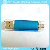 Verschiedene Farben-kundenspezifisches Firmenzeichen 16GB OTG USB-Blitz-Laufwerk (ZYF1600)