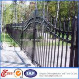Cercado profesional práctico del hierro labrado de la seguridad ornamental especial