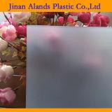 Tipos desobstruídos coloridos folhas acrílicas de PMMA