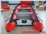 合板の床(FWS-A360)が付いている膨脹可能な速度のボート