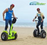 新しい21インチブラシレス4000W 72Vの電気スクーターのバランスの一人乗り二輪馬車