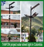 Luz de calle solar solar profesional del fabricante 80W del alumbrado público con poste
