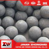 Bola de acero de pulido de la forja caliente de la venta 2016 para la central eléctrica y la explotación minera y la planta del cemento