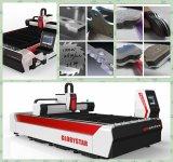 Автомат для резки лазера волокна CNC для частей металлического листа