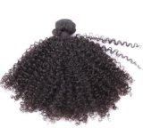 Горячие продавая совершенные монгольские Kinky курчавые волосы n Remy для сексуальной повелительницы
