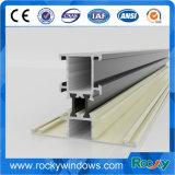 Profils T5 en aluminium rocheux du prix usine 6063 pour le tissu pour rideaux Windows