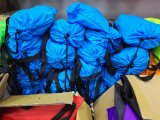 よいクリスマスのギフトの卸売の膨脹可能なラウンジ袋