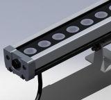 Van de LEIDENE van L1000mm 24W IP67 de Verlichting Wasmachine van de Muur voor OpenluchtVerlichting