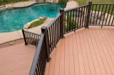 Decking impermeabile ambientale esterno Anti-UV di WPC con il prezzo basso