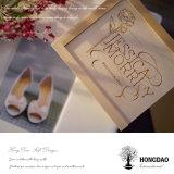 Caja de embalaje de la foto de la boda de Hongdao para la foto 5X7 '' o 4X6 ''