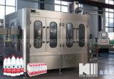 Máquina de embotellamiento automática de la línea del agua relleno que se lava y el capsular