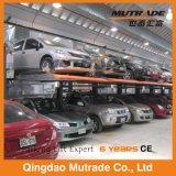 Garage de stationnement mécanique hydraulique de véhicule de deux postes de la CE