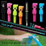 2015 più nuovo Pen Design Superme Mini2 Mini Selfie Stick per Lover, Gift Selfie Stick con Bluetooth Shutter Button