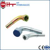 Connettore idraulico del tubo del montaggio di tubo flessibile del tubo dell'acciaio inossidabile del fornitore