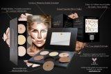 Uitrusting 6 van de Contour van het Poeder van de Schoonheidsmiddelen van Aesthetica van het Hoogtepunt van de Stichting van de make-up Mixable Poeder Blendable