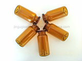 bernsteinfarbige medizinische Glasphiole 10ml/Flasche