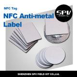 Hf Pet Anti- metal Ntag215 ISO14443A Nfc etiqueta RFID