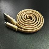 인조 인간 전화 USB 케이블을%s 편평한 색깔 Charger&Transfer 4 꼬부라진 데이터
