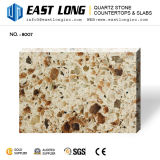 Lajes artificiais à prova de fogo da pedra de quartzo para o mercado global/Vanitytops/bancadas