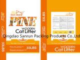 Plastik gesponnener Beutel für Katze-Sänfte