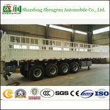 4axles Aanhangwagen van het Paard van de Vrachtwagen van de Omheining van de staak de Semi