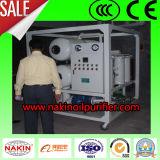 Famoso de la marca de alto vacío purificador de aceite del transformador, aceite de máquina de filtrado