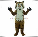 Traje animal da mascote da melhor mascote do tigre de Emulational