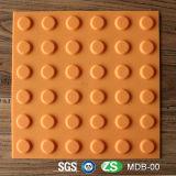 Bürgersteig-blinder Tastgummiziegelstein