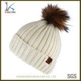 POM POMのカスタム白人女性の無能の帽子の帽子