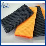 Limpieza de coches de microfibra toalla de la galleta (QHESF00911)