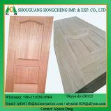 Pelle del portello del compensato modellata impiallacciatura di legno di Natureal