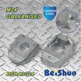 Bride borgne Ba1g24 de faisceau d'ajustage de précision de pipe de fixation de partie métallique de connecteurs du boulon M24